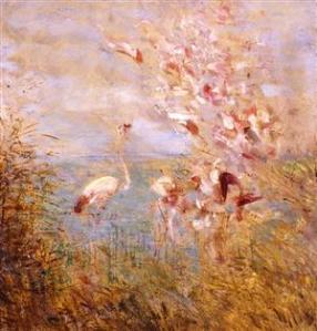 felix-ziem-flamants-roses-(detail)-huile-sur-toile-vers-1860-musee-des-beaux-arts-de-beaune-photo-j-c-couval