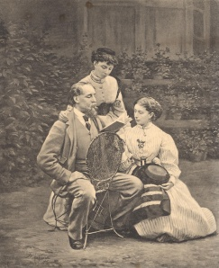 Charles Dickens et ses filles