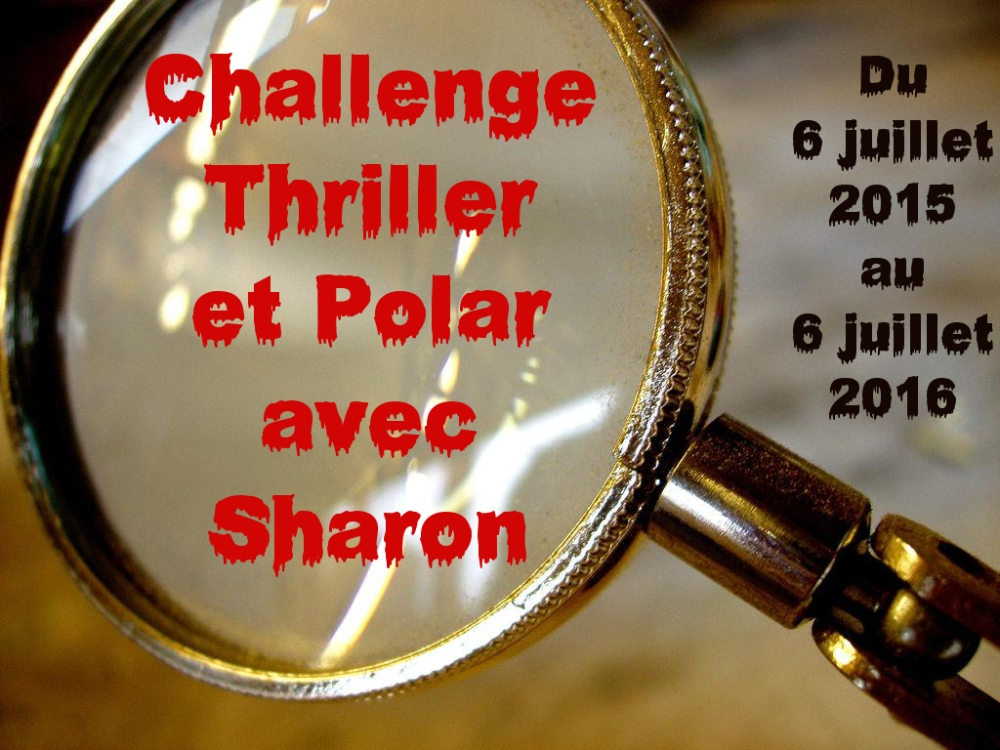 Challenge Thriller et polar - session 2015-2016 (1/3)